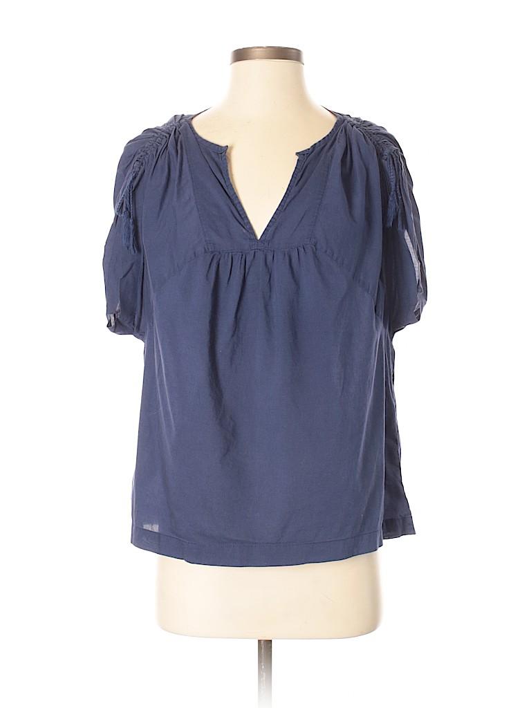 Joe Fresh Women Short Sleeve Blouse Size XS