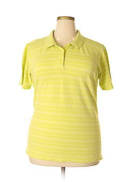 Elisabeth by Liz Claiborne Short Sleeve Polo Size 1X (Plus)