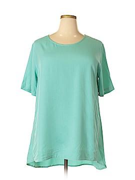 Go Fish Clothing Short Sleeve Blouse Size XXL