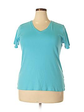Laura Ashley Short Sleeve T-Shirt Size 2X (Plus)