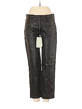 Pierre Balmain Leather Pants 26 Waist