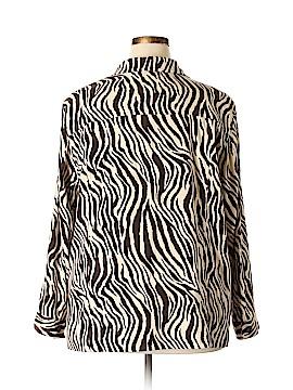 Liz & Me Long Sleeve Button-Down Shirt Size 22 (Plus)