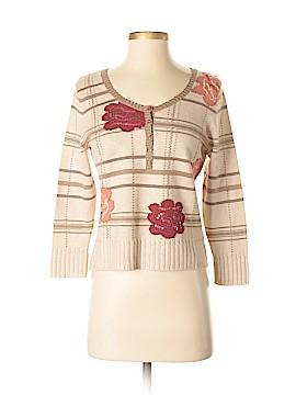 Sigrid Olsen Silk Pullover Sweater Size S (Petite)