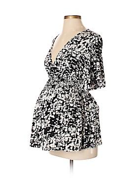 Liz Lange Maternity for Target Short Sleeve Blouse Size XS (Maternity)