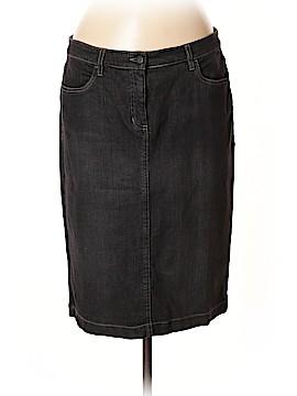 Eileen Fisher Denim Skirt Size 14