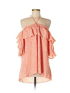 Easel Short Sleeve Blouse Size M