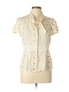 Floreat Short Sleeve Button-Down Shirt Size 12
