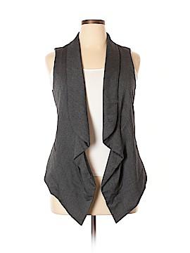 Ellen Tracy Tuxedo Vest Size L