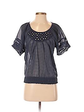 American Rag Cie Short Sleeve Blouse Size XS