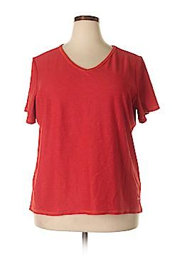 Curves Short Sleeve T-Shirt Size 3X (Plus)