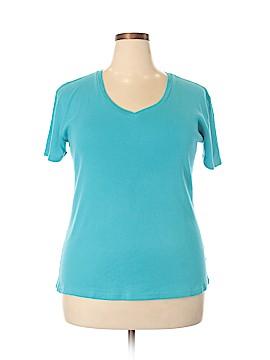 Laura Ashley 3/4 Sleeve T-Shirt Size 2X (Plus)