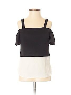 Sally Miller Short Sleeve Blouse Size 7