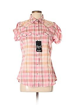 Rock 47 Short Sleeve Button-Down Shirt Size M