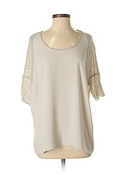 Lola & Sophie Short Sleeve Blouse Size M