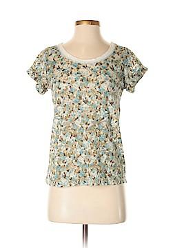 Chloe K Short Sleeve Blouse Size S