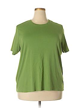 Cherokee Short Sleeve T-Shirt Size 1X (Plus)