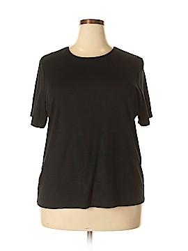 JM Collection Short Sleeve T-Shirt Size 2X (Plus)