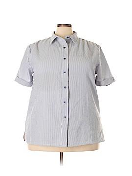 BocaBay Short Sleeve Blouse Size 2X (Plus)