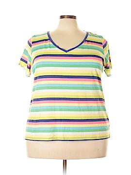Liz Claiborne Short Sleeve T-Shirt Size 3X (Plus)