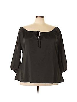 Metro 3/4 Sleeve Blouse Size 22 - 24W (Plus)