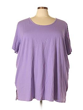 Roaman's Short Sleeve T-Shirt Size 34 (4X) (Plus)