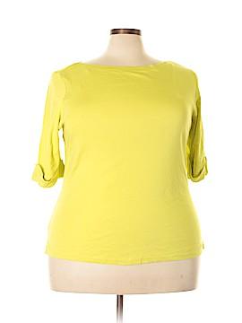 Kim Rogers Signature 3/4 Sleeve Top Size 2X (Plus)