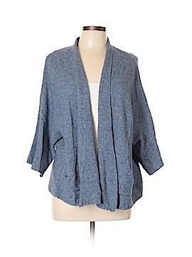 Eileen Fisher Wool Cardigan Size XL