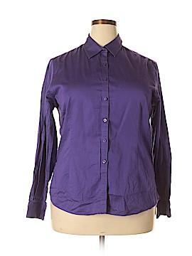 Shirt 469 Long Sleeve Button-Down Shirt Size XXL