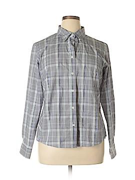 Doc & Amelia Long Sleeve Button-Down Shirt Size L
