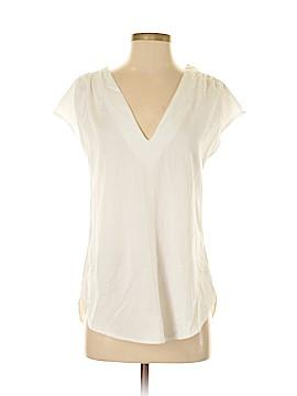 Leona by Lauren Leonard Short Sleeve Blouse Size XS