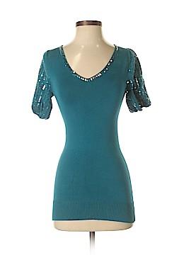 Arden B. 3/4 Sleeve Silk Top Size XS