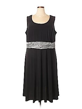 Perceptions Woman Casual Dress Size 3X (Plus)