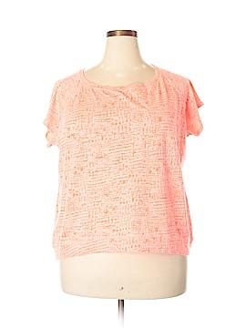 Xersion Short Sleeve T-Shirt Size 1X (Plus)