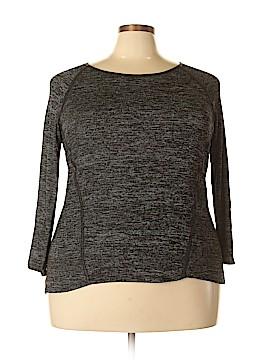 Ultra Teeze Long Sleeve Top Size 2X (Plus)