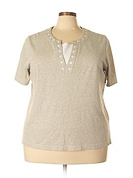 C.D. Daniels Short Sleeve Top Size 2X (Plus)