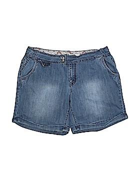 Zana Di Jeans Denim Shorts Size 22 (Plus)