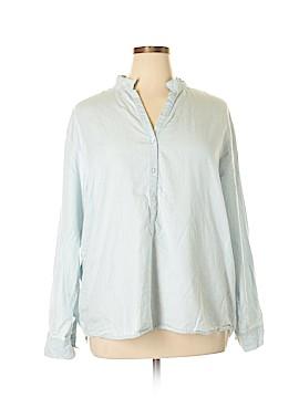 Bandolino Long Sleeve Button-Down Shirt Size XL