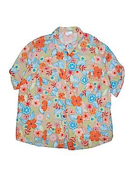 JMS Collection Short Sleeve Button-Down Shirt Size 2X (Plus)