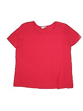 Sag Harbor Short Sleeve T-Shirt Size 2X (Plus)