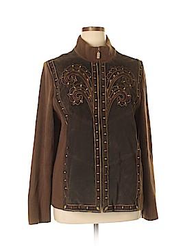 Bob Mackie Leather Jacket Size XL