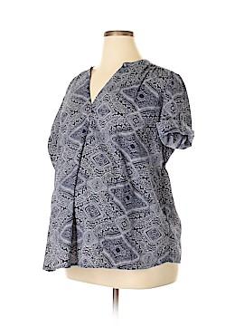 Oh! Mamma Short Sleeve Blouse Size XL (Maternity)