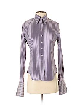VERTIGO Long Sleeve Button-Down Shirt Size M