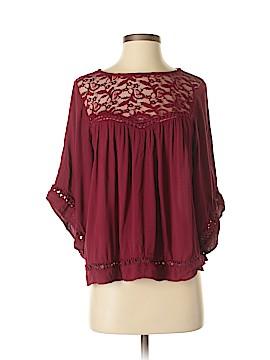 Harlowe & Graham 3/4 Sleeve Blouse Size XS