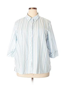 Chic 3/4 Sleeve Button-Down Shirt Size XXL