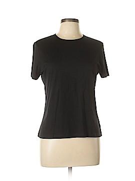 Lauren by Ralph Lauren Short Sleeve Silk Top Size L