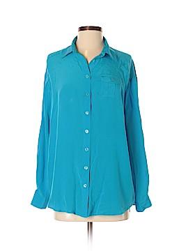 Dora Landa Long Sleeve Silk Top Size 4