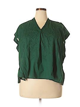 Uniqlo Short Sleeve Blouse Size XL