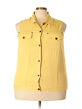 Carole Little Vest Size 1X (Plus)