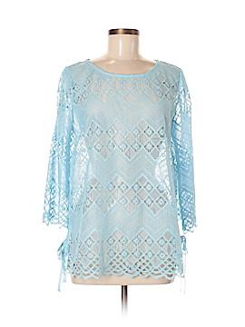 Rafaella 3/4 Sleeve Blouse Size M