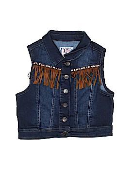 Justice Denim Vest Size 12 - 14